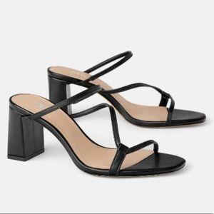 Zara Strappy Mule Sandals